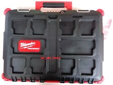 New Milwaukee 48-22-8424 Packout Stackable Tool Case Chest For Drill & Impact