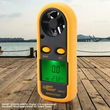 Smart Sensor AR816+ Digital Anemometer Wind Speed Gauge Thermometer