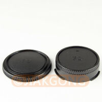 DSLRKIT Rear Lens + Camera body Cover cap for CANON FD Camera