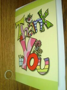 Thank You for the Wonderful Gift ! From Any One Thank You greeting Card * G36