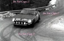 Rauno Aaltonen Datsun 240Z Monte Carlo Rally 1972 Photograph 1