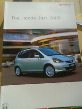 Honda Jazz range brochure 2005