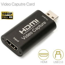 HDMI Video Capture Card Screen Record USB 2.0 1080P Game HD Video Capture Card