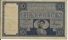 10 Gulden April 1930 Zeeuws Meisje