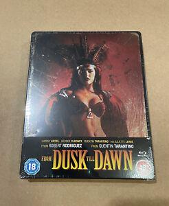 From Dusk Till Dawn Blu-ray Steelbook Quentin Zavvi Tarantino New & Sealed