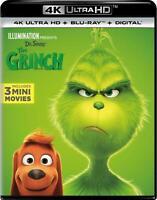 How the Grinch Stole Christmas (4K Ultra HD + BLU-RAY + DIGITAL) NEW + FREE SHIP