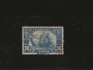 """Canada, SC 158, SG 284 """"The Bluenose"""" used"""
