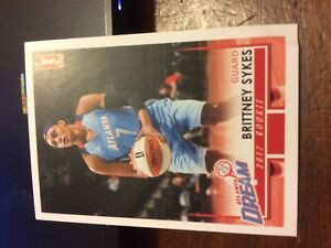 2017 WNBA Atlanta Dream Team Set with Sykes Rookie