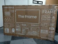 "Samsung 65"" 4K The Frame UHD QLED TV QN65LS03 PLEASE READ FULL DESCRIPTION"