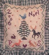 Praiseworthy Stitches THE BIRD'S CAROL Cross Stitch Chart Only Christmas sampler