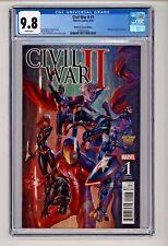 Civil War II #1 J Scott Campbell Variant CGC 9.8
