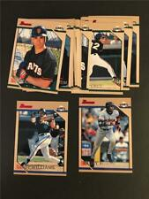 1996 Bowman San Francisco Giants Team Set 14 Cards