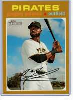 Gregory Polanco 2020 Topps Heritage 5x7 Gold #273 /10 Pirates