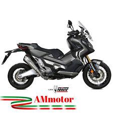 Mivv Honda X-Adv 750 2018 18 Terminale Di Scarico Delta Race Inox Moto Omologato