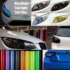 Headlight + Tail light Tinting Vinyl Film - Smoked, JDM Yellow, Chameleon + More