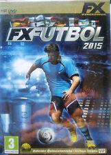 FX FÚTBOL 2015 EDICIÓN COLECCIONISTA. 3 JUEGOS FXFÚTBOL PARA PC. NUEVO, PRECINT.