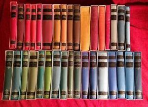 The Folio Society Works of Anthony Trollope Bundle Set of 34 Volumes Hardback