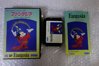 "Fantasia ""Good Condition"" Sega Megadrive Japan Video Game"