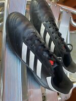 Adidas Goletto Astro Turf Trainers  - UK Size 9 - Black and White
