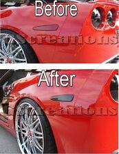 C6 Chevy Corvette Side Marker Blackout Cover Kit - Blackouts