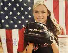 USA Olympic Softball Star Jennie Finch Signed 16X20 Photo JSA AMERICA