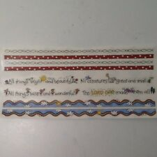 """All Things Bright Beautiful 12"""" Border SCRAPBOOKING Stickers Me & My Big Ideas"""