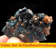 6600 Lazulith lazulite Siderit ca 3,5*5*1 cm Rapid Creek Yukon Kanada 1995 MOVIE