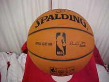 Official Spalding NBA Orlando Magic Six Panel Game Basketball David J. Stern