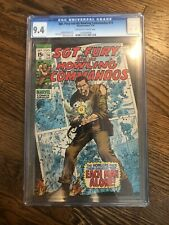 Sgt Fury and his Howling Commandos 74 CGC 9.4