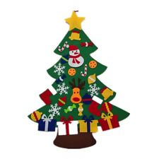 Felt Christmas Tree Kids 3.2Ft Diy Toddlers 30 Pcs Ornaments Children Xmas Gifts