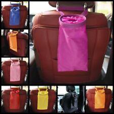 Portable Car Auto Dustbin Trash Garbage Dust Rubbish Bin Can Box Holder Bag SH