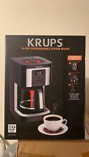 Krups Ec3220 14-Cup Programmable Coffee Maker Black