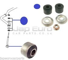 SSANGYONG REXTON 02-06 FRONT ANTI ROLL BAR STABILIER DROP LINK BUSHES KIT PAIR