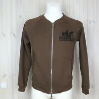 Dsquared2 jacket with a zipper Men's Bomber Made In Italy Brown Size M (As S)