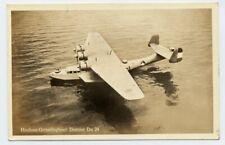 AK Flugboot Dornier Do 24 Feldpost 1940 WKII Flugschule Insterburg Luftwaffe