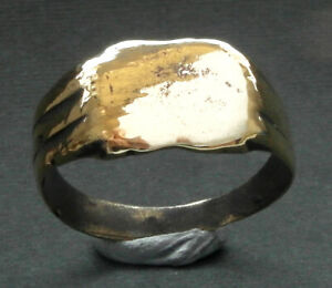 A large genuine Tudor bronze ring - wearable