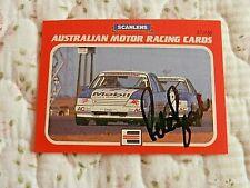 1986 SIGNED PETER BROCK AUSTRALIAN MOTOR RACING TRADING CARD# 57.........16