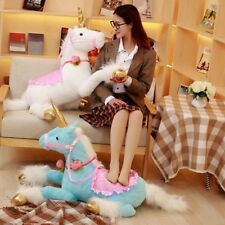 Giant Stuffed Animal Toy Soft Horse Doll Large Plush Toys Children Gifts 90cm