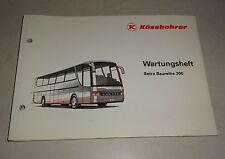 Wartungsheft / Serviceheft blanko Kässbohrer Setra Bus Baureihe 300 Stand 7/1991