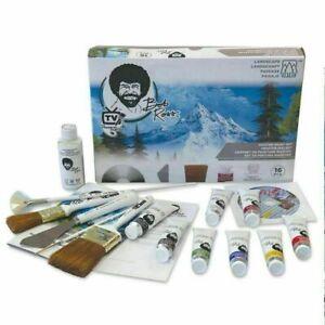 Bob Ross Joy of Painting Landscape Oil Colour Master Painting Set **BRAND NEW**