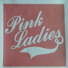 PINK LADIES GREASE A5  IRON ON T SHIRT TRANSFER