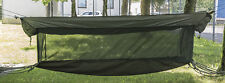 US Jungle Hängematte Canvas oliv, Liege, Camping, Outdoor, Military  -NEU-