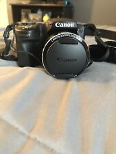 **SINGLE USE** Canon PowerShot SX510 HS 12.1MP Digital Camera - Black