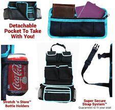 Back Seat Car Organizer - Kids Storage Compartment - Holds Bottles Toys Snacks