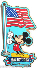WDW Flag Day 2003: Mickey Mouse LE 2000 Pin