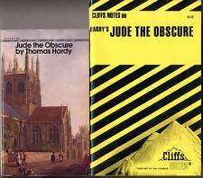 Jude the Obscure by Thomas Hardy & Cliff Notes study guide - Free Shipping!
