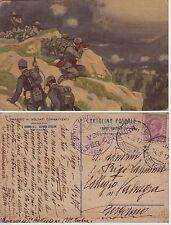 # METLICOVITZ- POSTA MILITARE 16a DIVISIONE - 1917