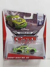 DISNEY PIXAR CARS WORLD OF CARS PISTON CUP SHINY WAX  NO. 82