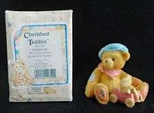Enesco Cherished Teddies Harrison We're Going Places 91739 Ln Boxed