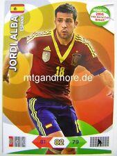 Adrenalyn XL - Jordi Alba - Spanien - Road to 2014 FIFA World Cup Brazil